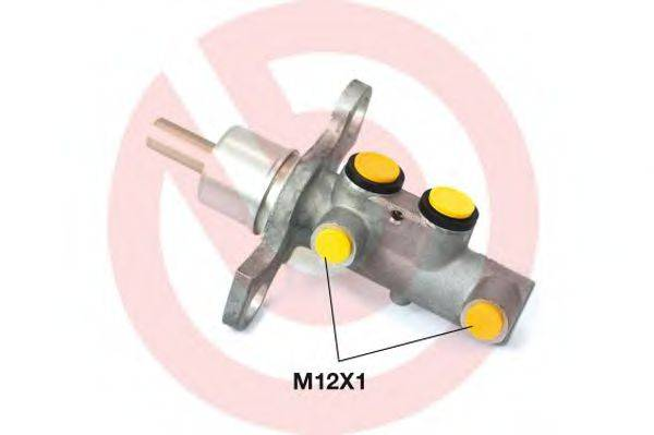 BREMBO M23002 Главный тормозной цилиндр