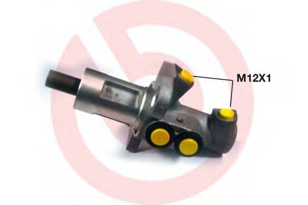 BREMBO M85062 Главный тормозной цилиндр