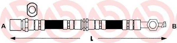 BREMBO T83032 Тормозной шланг