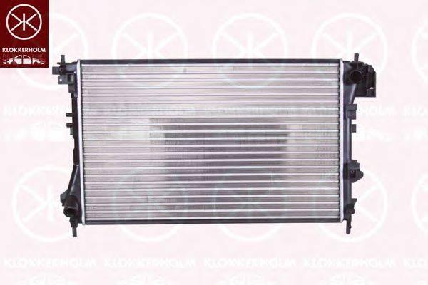 Радиатор, охлаждение двигателя KLOKKERHOLM 5078302387