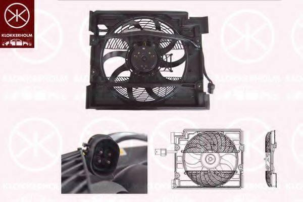 KLOKKERHOLM 00652601 Вентилятор, охлаждение двигателя
