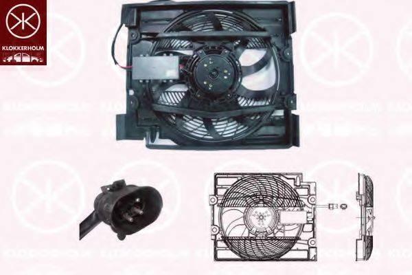 KLOKKERHOLM 00652602 Вентилятор, охлаждение двигателя