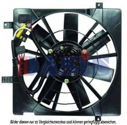 AKS DASIS 198006N Вентилятор, охлаждение двигателя