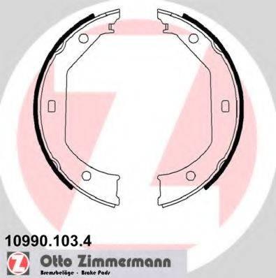 ZIMMERMANN 109901034 Комплект тормозных колодок, стояночная тормозная система