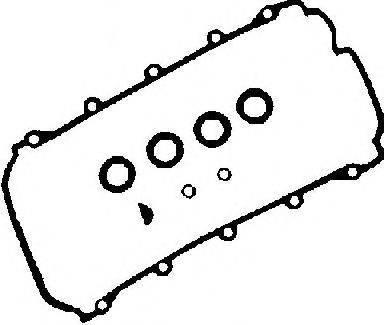 Комплект прокладок, крышка головки цилиндра GLASER V32944-00
