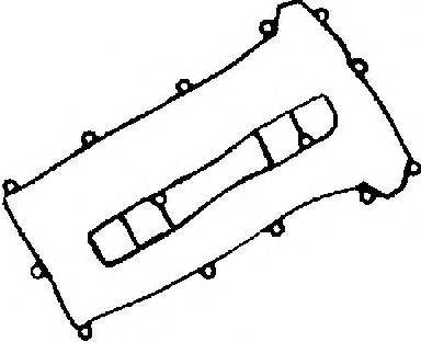 Комплект прокладок, крышка головки цилиндра GLASER V36732-00