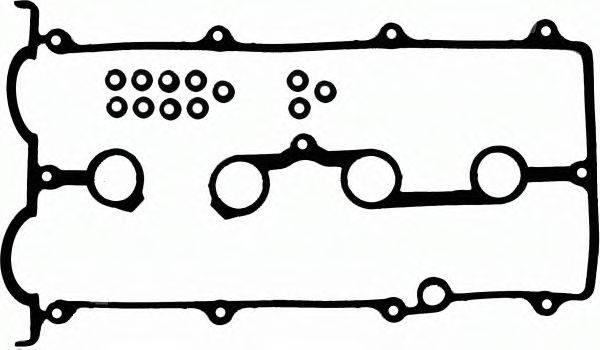Комплект прокладок, крышка головки цилиндра GLASER V37990-00