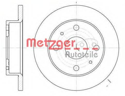 METZGER 683000 Тормозной диск