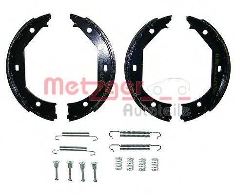 METZGER KR267 Комплект тормозных колодок, стояночная тормозная система