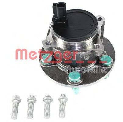 METZGER WM3661 Комплект подшипника ступицы колеса
