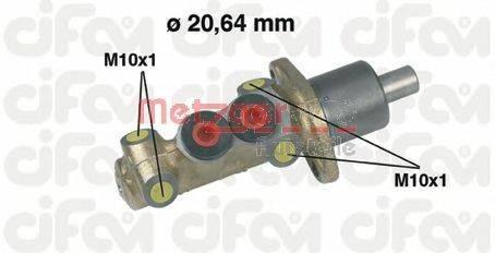 METZGER 202059 Главный тормозной цилиндр