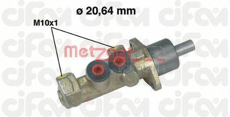 METZGER 202242 Главный тормозной цилиндр