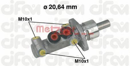 METZGER 202277 Главный тормозной цилиндр