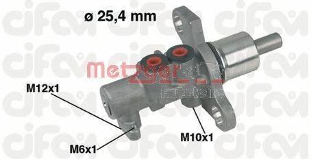 METZGER 202368 Главный тормозной цилиндр