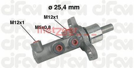 METZGER 202439 Главный тормозной цилиндр