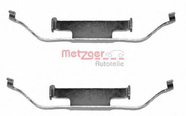 METZGER 1091097 Комплектующие, колодки дискового тормоза