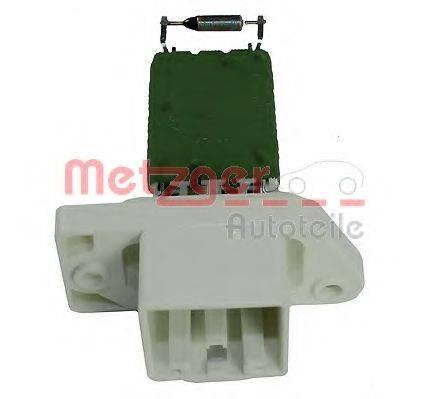 METZGER 0917029 Сопротивление, вентилятор салона