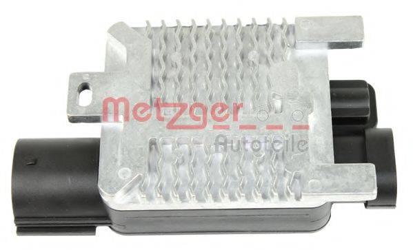 METZGER 0917038 Блок управления, эл. вентилятор (охлаждение двигателя)