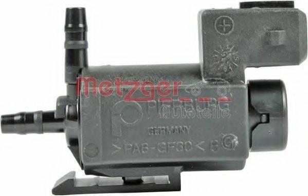 METZGER 0892122 Клапан, управление рециркуляция ОГ; Клапан, управление воздуха-впускаемый воздух; Переключающийся вентиль, перекл. клапан (впуск.  газопровод); Переключающийся вентиль, заслонка выхлопных газов; Переключающийся вентиль, подвеска двигателя; Клапан, компрессор - клапан Bypass