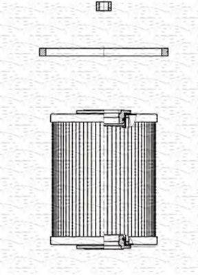 MAGNETI MARELLI 213908507000 Топливный фильтр