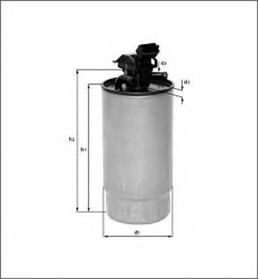 MAGNETI MARELLI 154085181280 Топливный фильтр