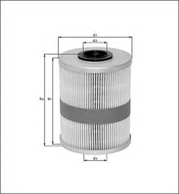 MAGNETI MARELLI 154096913460 Топливный фильтр